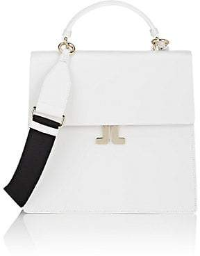 Lanvin WOMEN'S JL LEATHER CONVERTIBLE BACKPACK - WHITE
