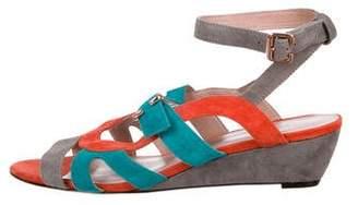 Rebecca Minkoff Suede Accented Sandals