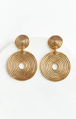 Show Me Your Mumu Vanessa Mooney ~ The Braxton Earrings ~ Gold