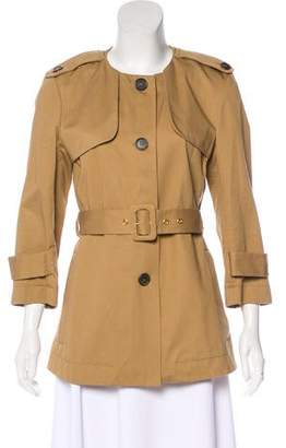 Marni Belted Collarless Jacket