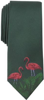 Bar III Men's Garden Flamingo Tie, Created for Macys