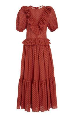 Ulla Johnson Bettine Embroidered Dress