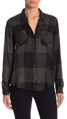 Lucky Brand Plaid Button Down Shirt