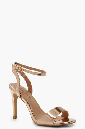 boohoo Extra Wide Fit 2 Part Heels