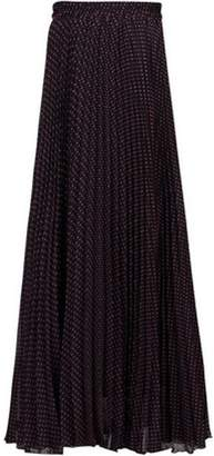 Dorothy Perkins Womens *Jolie Moi Black Pink Dot Maxi Skirt