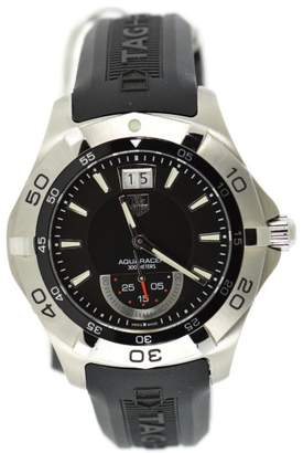 Tag Heuer Aquaracer WAF1010 Stainless Steel & Rubber Quartz 42mm Mens Watch