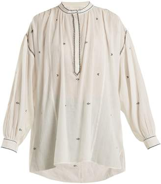 Etoile Isabel Marant Mathilde embroidered-top