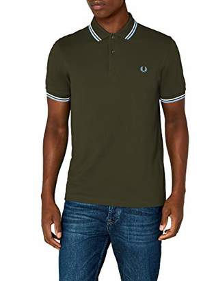 0ee2337dd9 Fred Perry Green Men's Shirts - ShopStyle