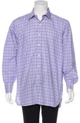 Turnbull & Asser Plaid Dress Shirt