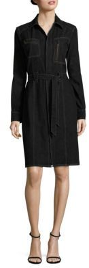 Polo Ralph Lauren Denim Utility Shirtdress $298 thestylecure.com