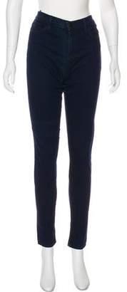 J Brand Mari Lapis High-Rise Jeans