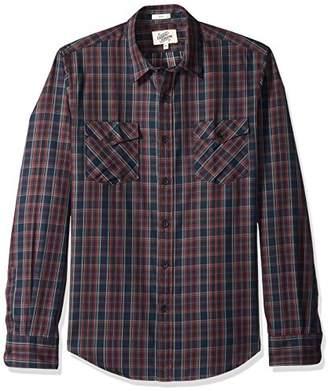 Casual Terrains Men's Button-Down Workwear 2-Pocket Shirt .