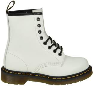 Dr. Martens White Leather Anfibio