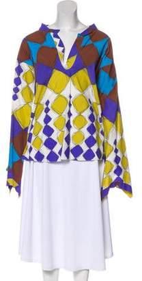 Marni Printed Long Sleeve Top