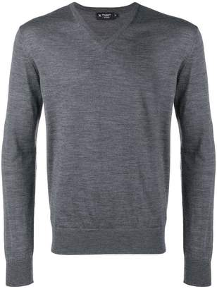 Hackett fine knit V-neck sweater