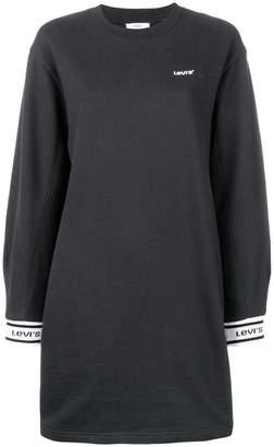 Levi's logo sweatshirt dress