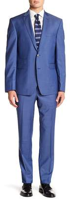 Vince Camuto Solid Trim Fit 2-Piece Suit