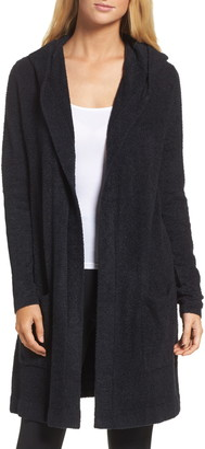 Barefoot Dreams Cozychic Lite® Coastal Hooded Cardigan