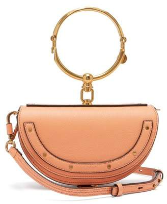 Chloé Nile Minaudiere Small Leather Clutch - Womens - Coral
