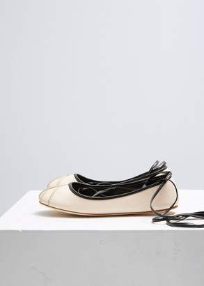 Marni Lace Up Ballet Flat