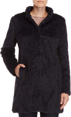 Kenneth Cole New York Faux Fur Coat
