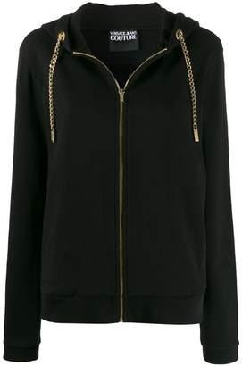 Versace chunky chain cardigan