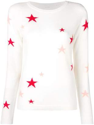 Parker Chinti & star embroidered sweater