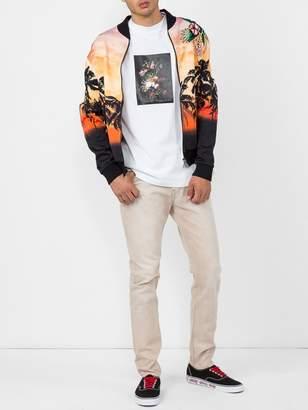 Valentino Palm tree print bomber jacket