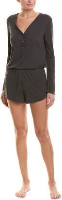 Josie Natori Heather Tees Romper
