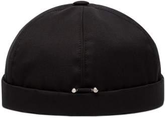 Neil Barrett pierced fitted cap