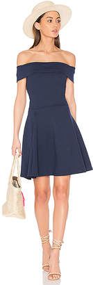 amour vert Pheobe Dress in Blue $145 thestylecure.com
