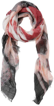 NEW Piper Water Colour Print Scarf PIPS0269 Rose