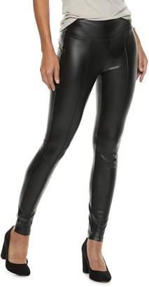 Rock & Republic Women's Faux-Leather Leggings