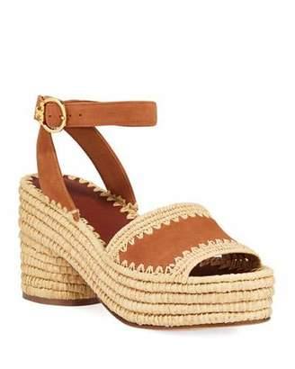 0860e7930e35 Tory Burch Platform Heel Women s Sandals - ShopStyle