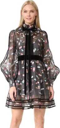 Marc Jacobs Long Sleeve Ruffle Dress $2,600 thestylecure.com