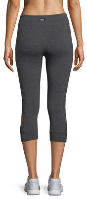 Marc Ny Performance Heart Cutout Capri Leggings