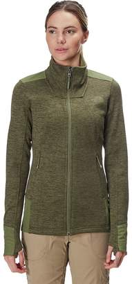 6165a4453 The North Face Green Full Zip Women's Jackets - ShopStyle