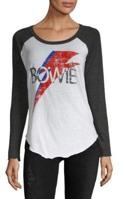 Chaser David Bowie Bolt Baseball Shirt