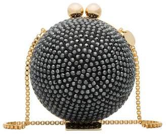 Swarovski Marzook black crystal sphere clutch