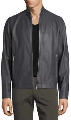 Theory Morvek Kelleher Leather Jacket