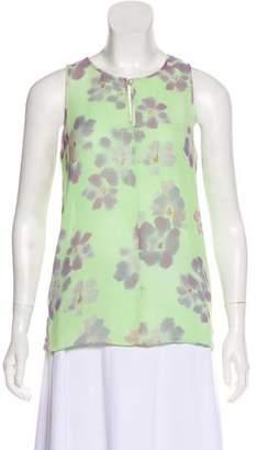 Armani Collezioni Sleeveless Floral Top