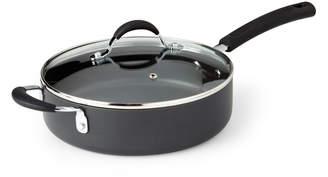Oneida 3-Quart Black Covered Saute Pan