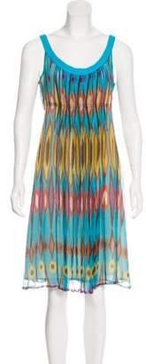 Tory Burch Midi Print Dress