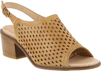Spring Step Leather Sandals - Lana