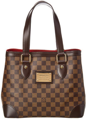 Louis Vuitton Damier Ebene Canvas Hampstead Pm