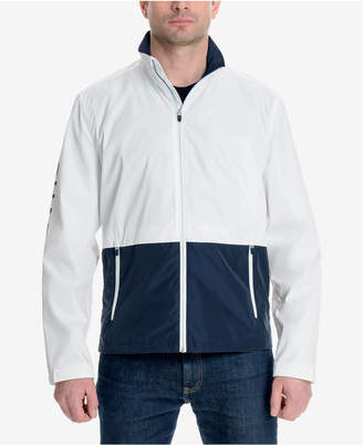 Michael Kors Men's Colorblocked Logo-Print Windslicker Jacket