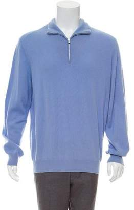 Hermes Cashmere Henley Sweater