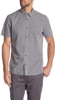 Calvin Klein Gingham Short Sleeve Shirt