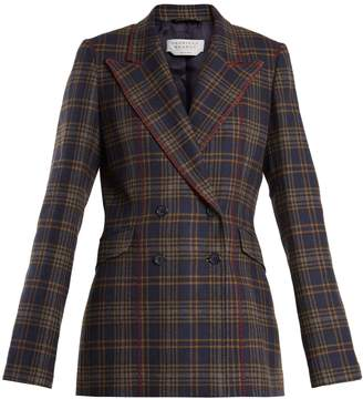 GABRIELA HEARST Angela double-breasted checked wool blazer