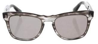 Dita Tinted Round Sunglasses